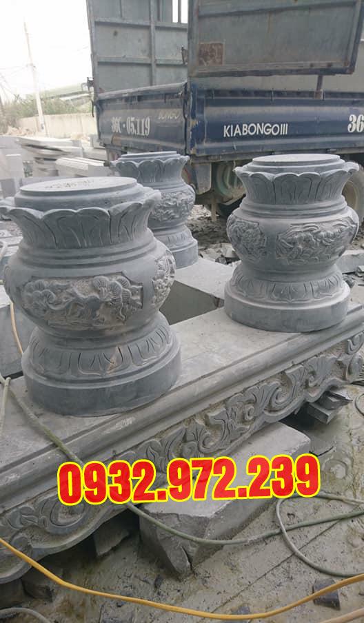 Mẫu Chân Đá Tảng Tại Xưởng Đá Mỹ Nghệ Thanh Hóa.