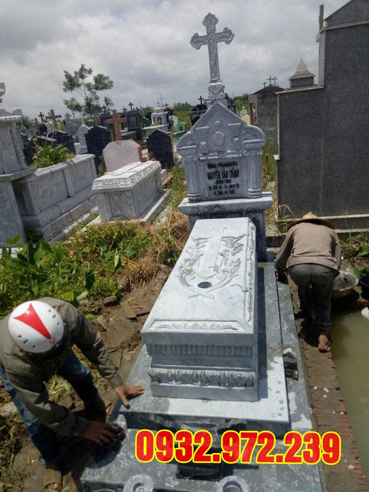 Mẫu mộ đá công giáo thanh hóa.