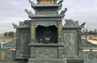 lăng mộ bằng đá xanh rêu thanh hóa
