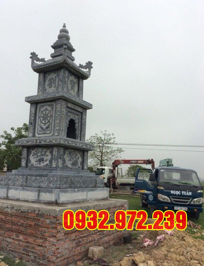 Mẫu mộ tháp bằng đá đẹp tại xưởng đá mỹ nghệ thanh hóa.